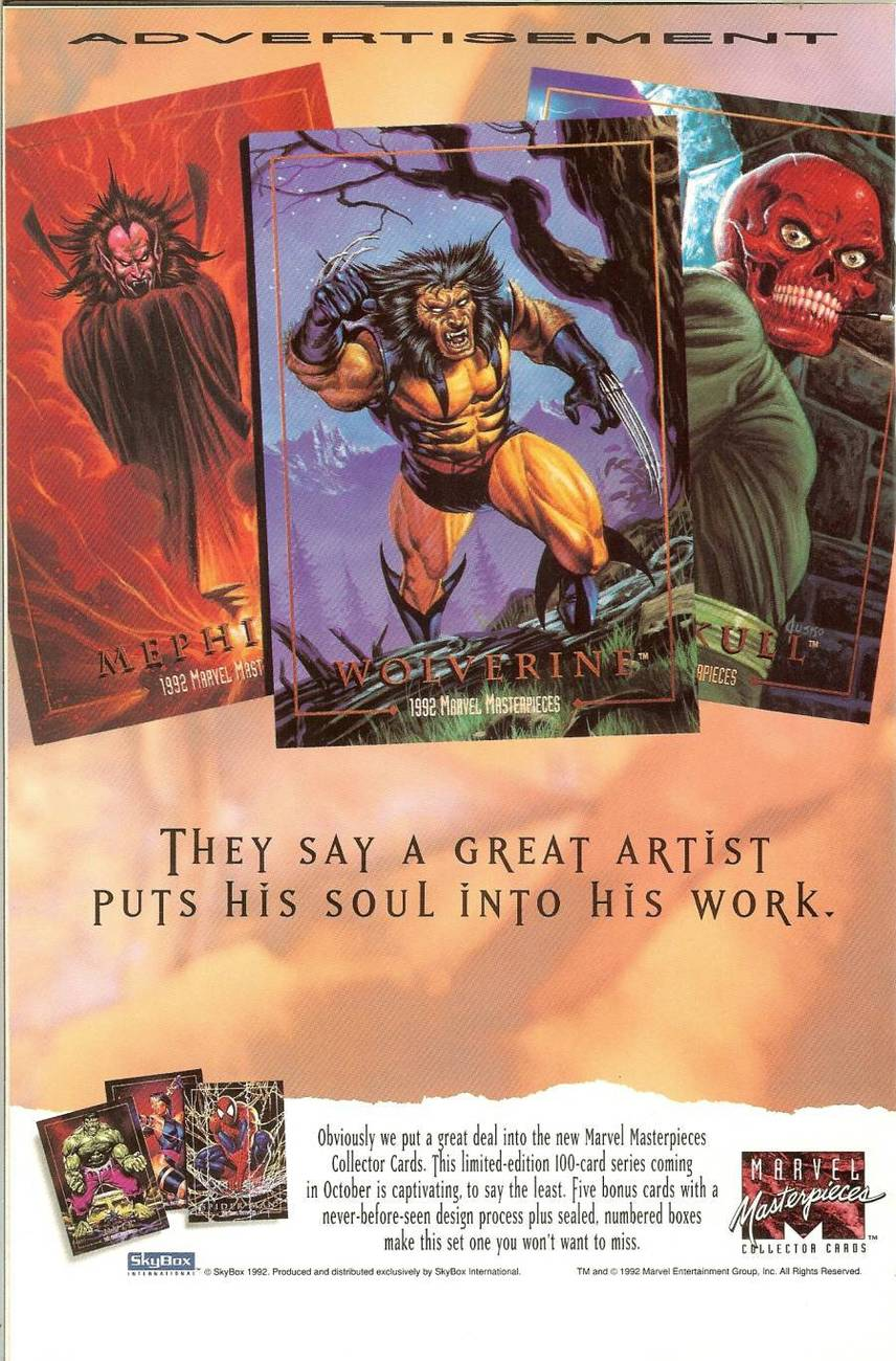 nomad vol 2 no 7 marvel comic book november 1992 playing cards cover