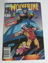 Marvel Comic Wolverine No 40 June 1991 - $2.55