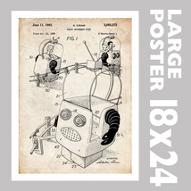 ROBOT AMUSEMENT PARK FUN RIDE US PATENT PRINT 1... - $18.95