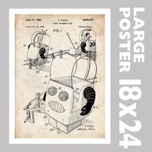 ROBOT AMUSEMENT PARK FUN RIDE US PATENT PRINT 1... - $18.95