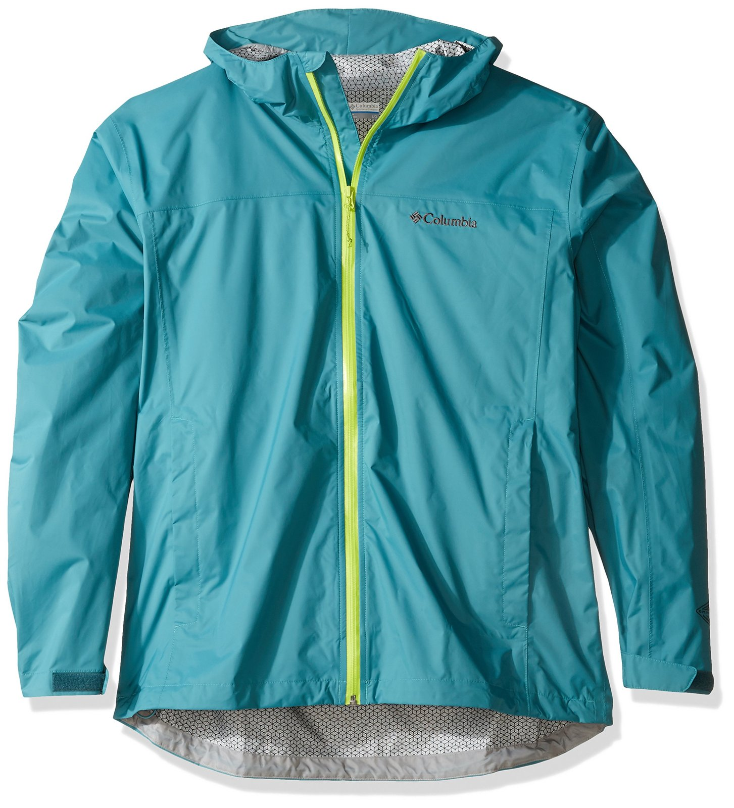 Columbia Men's Evapouration Jacket, Teal, Large