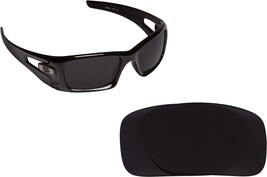 New SEEK OPTICS Replacement Lenses Oakley CRANKCASE - Black - $14.33