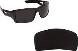 New Seek Optics Replacement Lenses Oakley Eyepatch 2   Black - $14.33
