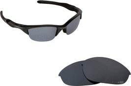 New Seek Replacement Lenses Oakley Half Jacket 2.0 Asian Fit   Black - $14.82