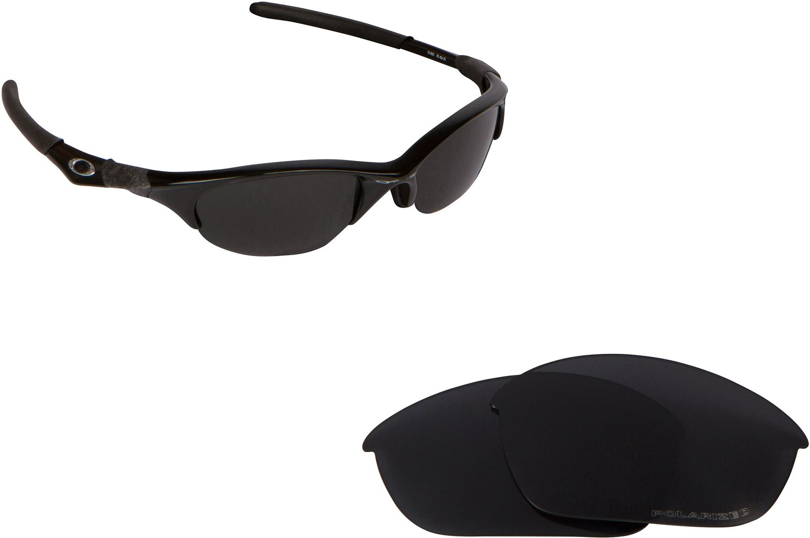Primary image for New SEEK OPTICS Replacement Lenses Oakley HALF JACKET Asian Fit - Black