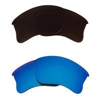 New Seek Replacement Lenses Oakley Half Jacket 2.0   Brown Blue - $24.24