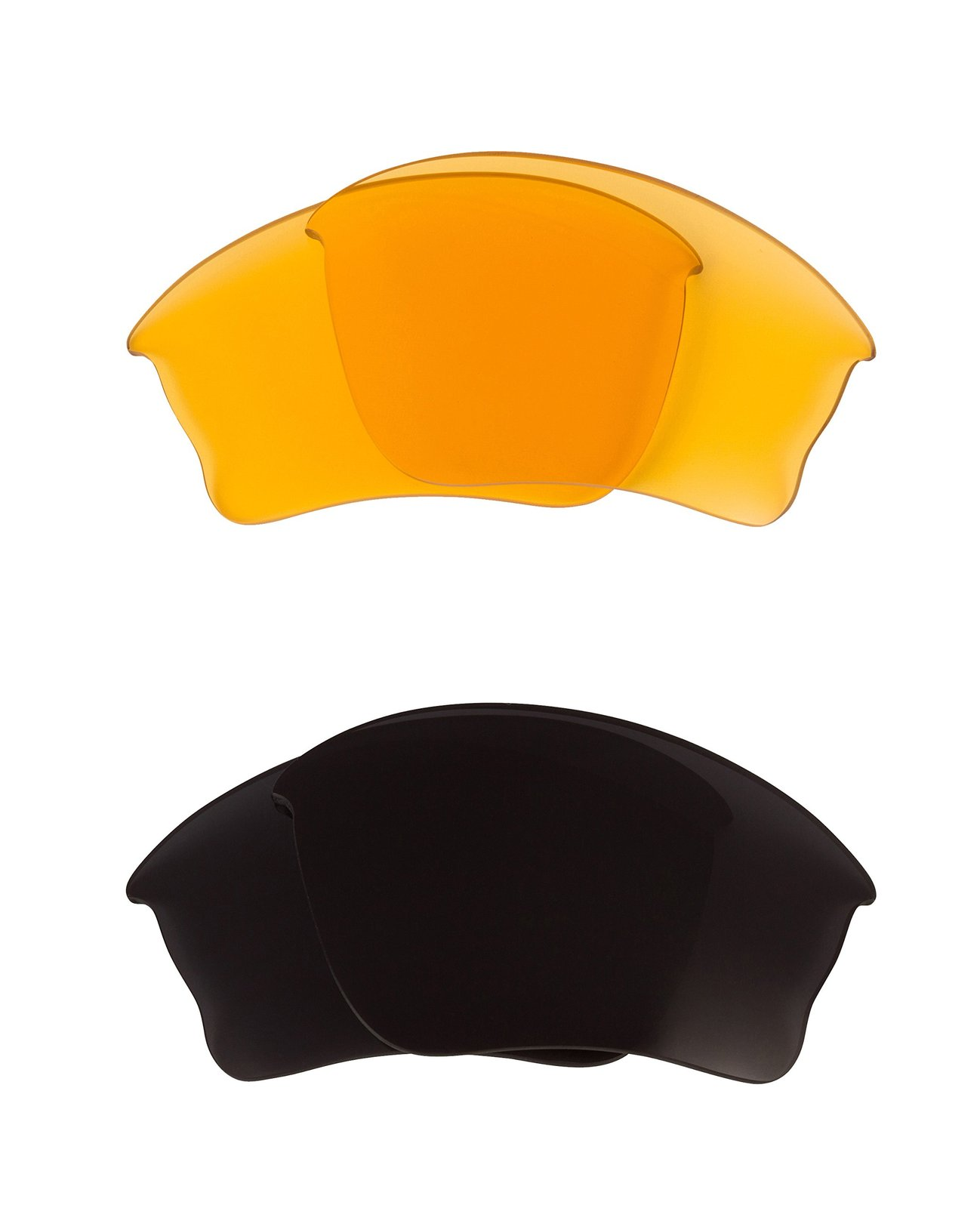 Primary image for New SEEK OPTICS Replacement Lenses Oakley HALF JACKET XLJ - Black HI Yellow