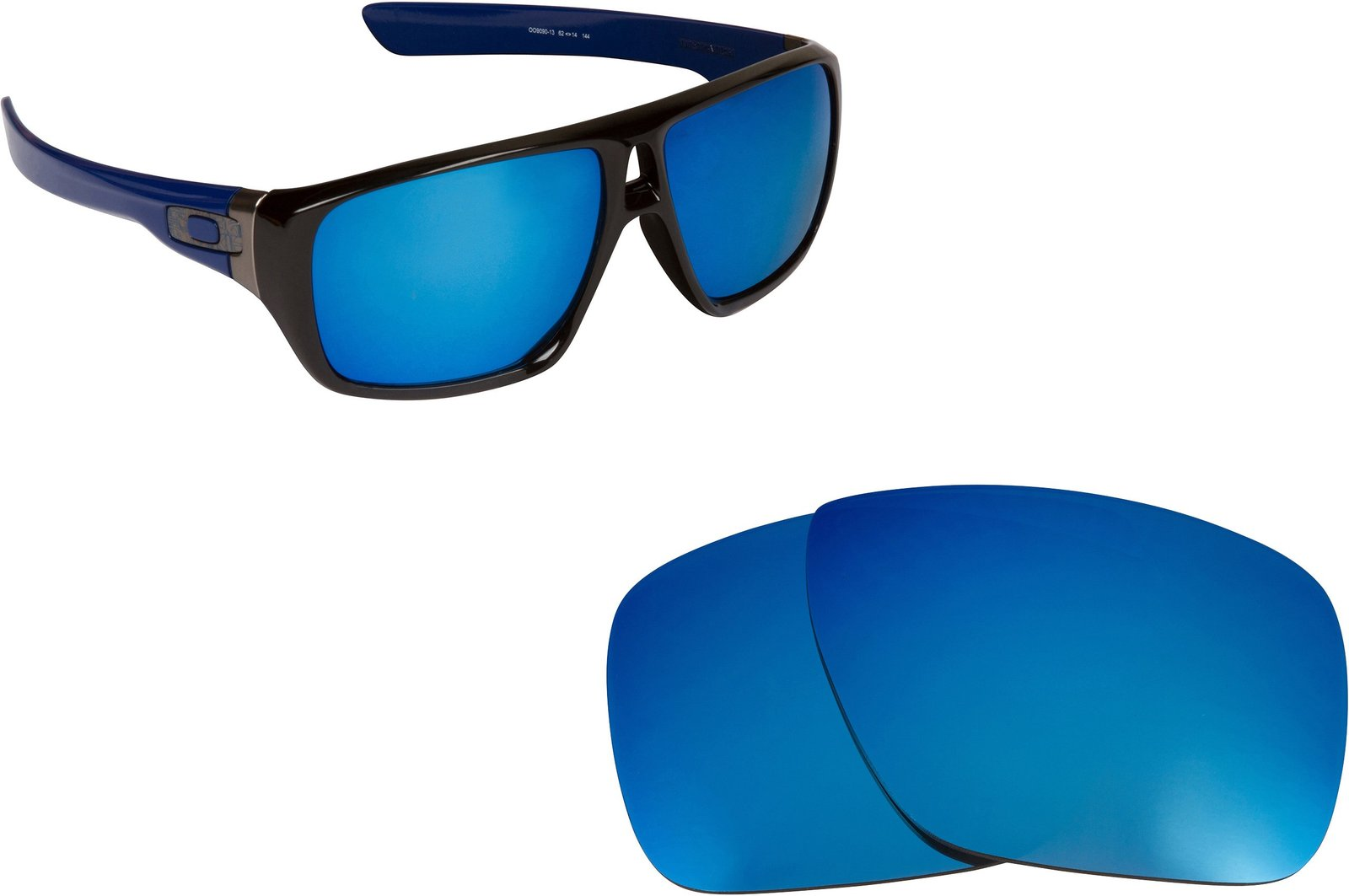 Primary image for New SEEK OPTICS Replacement Lenses Oakley DISPATCH 1 - Polarized Blue