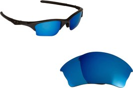 New SEEK OPTICS Replacement Lenses Oakley HALF JACKET XLJ - Blue - $18.78