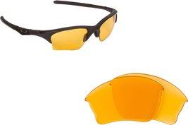 New SEEK Replacement Lenses Oakley HALF JACKET XLJ - Blue Yellow image 3