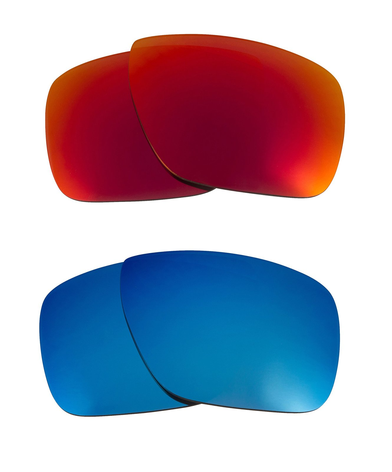 New SEEK Replacement Lenses Oakley DISPATCH 1 - Polarized Red Blue