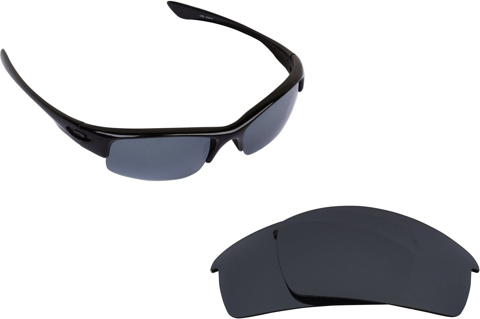 Primary image for New SEEK Replacement Lenses Oakley BOTTLECAP - Polarized Black Iridium