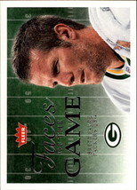 2006 Fleer Faces of the Game #FGBF Brett Favre -Green Bay Packers- - $1.50