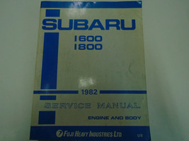 1982 Subaru 1600 1800 Service Repair Shop Engine Body Manual FACTORY OEM BOOK - $118.75