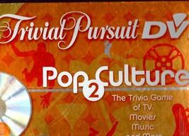 "Trivia Pursuit ""Pop Culture 2   Dvd Game"" - $20.00"
