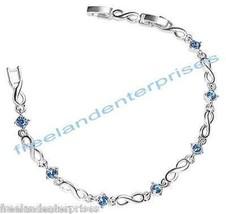 """Bracelet Empowerment Tennis Bracelet """"Speak Out Against Domestic Violenc... - $14.83"""