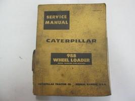 Caterpillar 988 Wheel Loader 87A1-87A2384 Service Manual SPINE DAMAGE ST... - $59.35