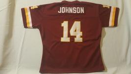 Washington Redskin's Football, Youth Jersey, Johnson 14 - $65.00