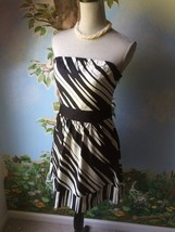 The Limited  Woman's Black and White Strapless Dress SZ 0 - $29.69