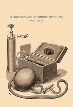 Surgeon's Case of Nitrous Oxide Gas Nos. 1 and 2 by H. D. Justi & Son - Art Prin - $19.99+