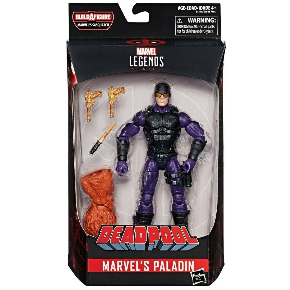 Hasbro Marvel Legends Paladin Sasquatch BAF