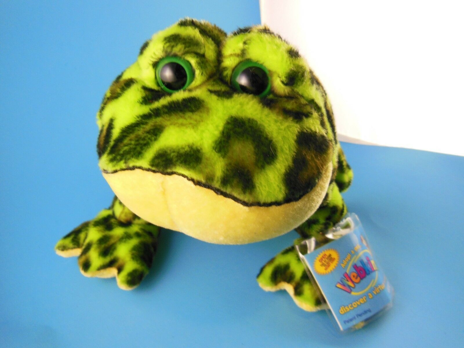 Primary image for Ganz Webkinz Bull frog With Code Excellent Condition