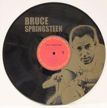 BRUCE SPRINGSTEEN #2 BLACK VINYL LP ETCHED W/ ARTIST'S IMAGE LIMITED EDI... - $47.45
