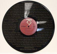 TWISTED SISTER VINYL LP ETCHED W/ I'M NOT GOING TO TAKE IT LYRICS LTD ED... - $47.45