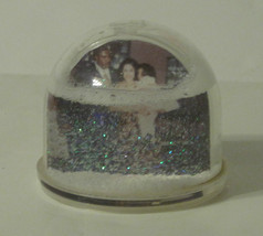 "Glitter Snow Globe Double Sided 3"" x 3"" Photo - $5.51"