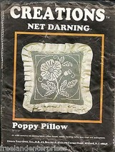 Crafts Poppy Pillow Kit Creations Kit #980 (Opened Kit) - $13.81