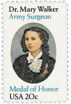 1982 20c Dr. Mary Walker, Surgeon Scott 2013 Mint F/VF NH - $0.99