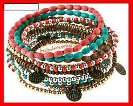Bracelet Mark Mix Me Bracelets Set of 11 Stretchie NEW - $19.75