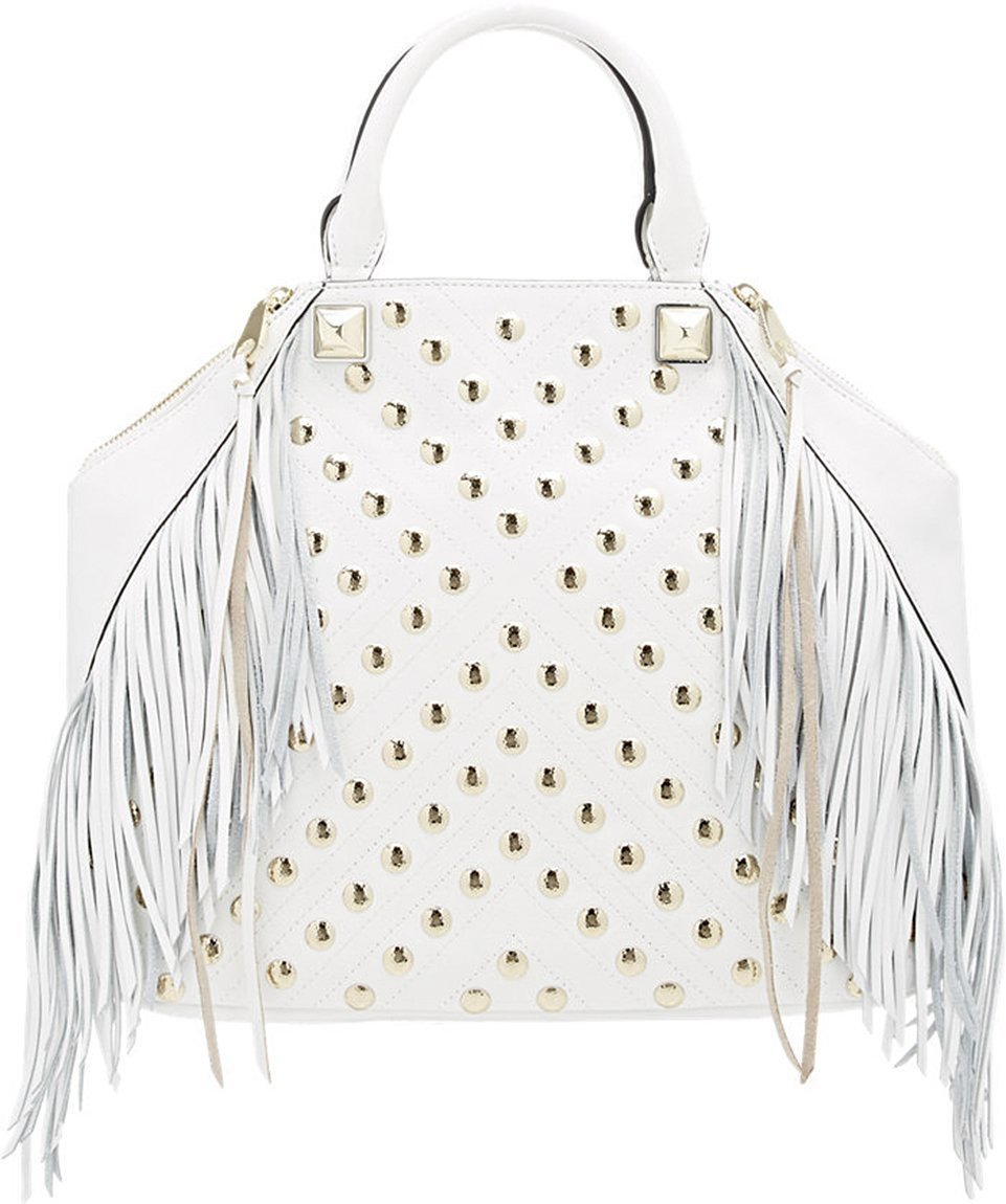 Primary image for Rebecca Minkoff Rylan Tote Fringe Leather White