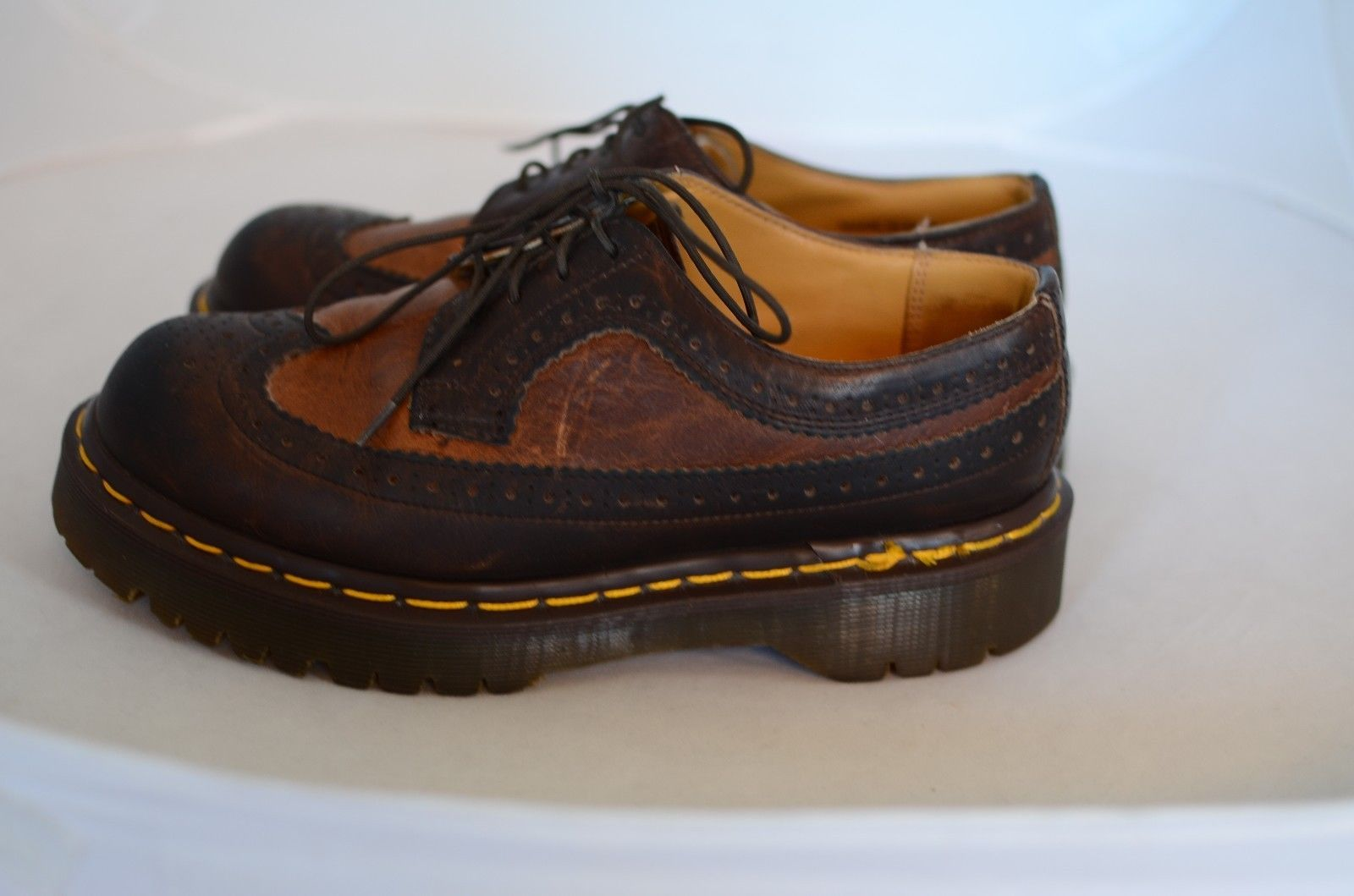 dr martens air wair leather air cushion and 50 similar items. Black Bedroom Furniture Sets. Home Design Ideas