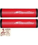 LIZARD SKINS DSP 30.3MM RED MTB BICYCLE GRIPS - $29.70