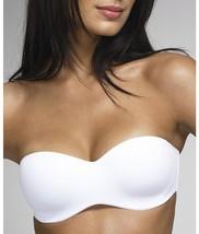 Dominique Seamless Strapless Bra, 48DD, White - $36.71