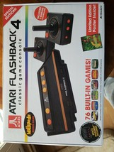 Atari Flashback 4 Classic Game Console Special Edition - 76 Built-in Games - NEW - $27.81