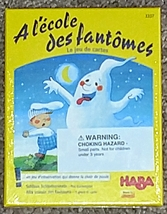 AT THE GHOST SCHOOL A LECOLE DES FANTOMES GAME HABA #3337 MADE IN GERMAN... - $10.00