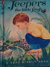 Jeepers the little frog a Rand McNally & Company book - $8.50