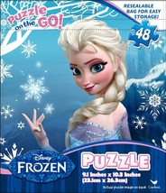 Frozen Promo Puzzle in Foil Bag (48-Piece) - $1.49