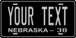 Nebraska 1938 Personalized Tag Vehicle Car Auto License Plate - $16.75