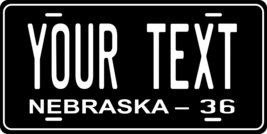 Nebraska 1936 Personalized Tag Vehicle Car Auto License Plate - $16.75