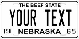 Nebraska 1965 Personalized Tag Vehicle Car Auto License Plate - $16.75