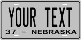 Nebraska 1937 Personalized Tag Vehicle Car Auto License Plate - $16.75