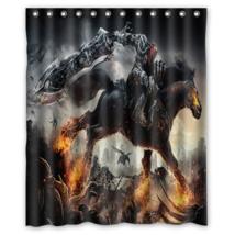 Darksider Warior Shower Curtain Waterproof Made From Polyester - $29.07+