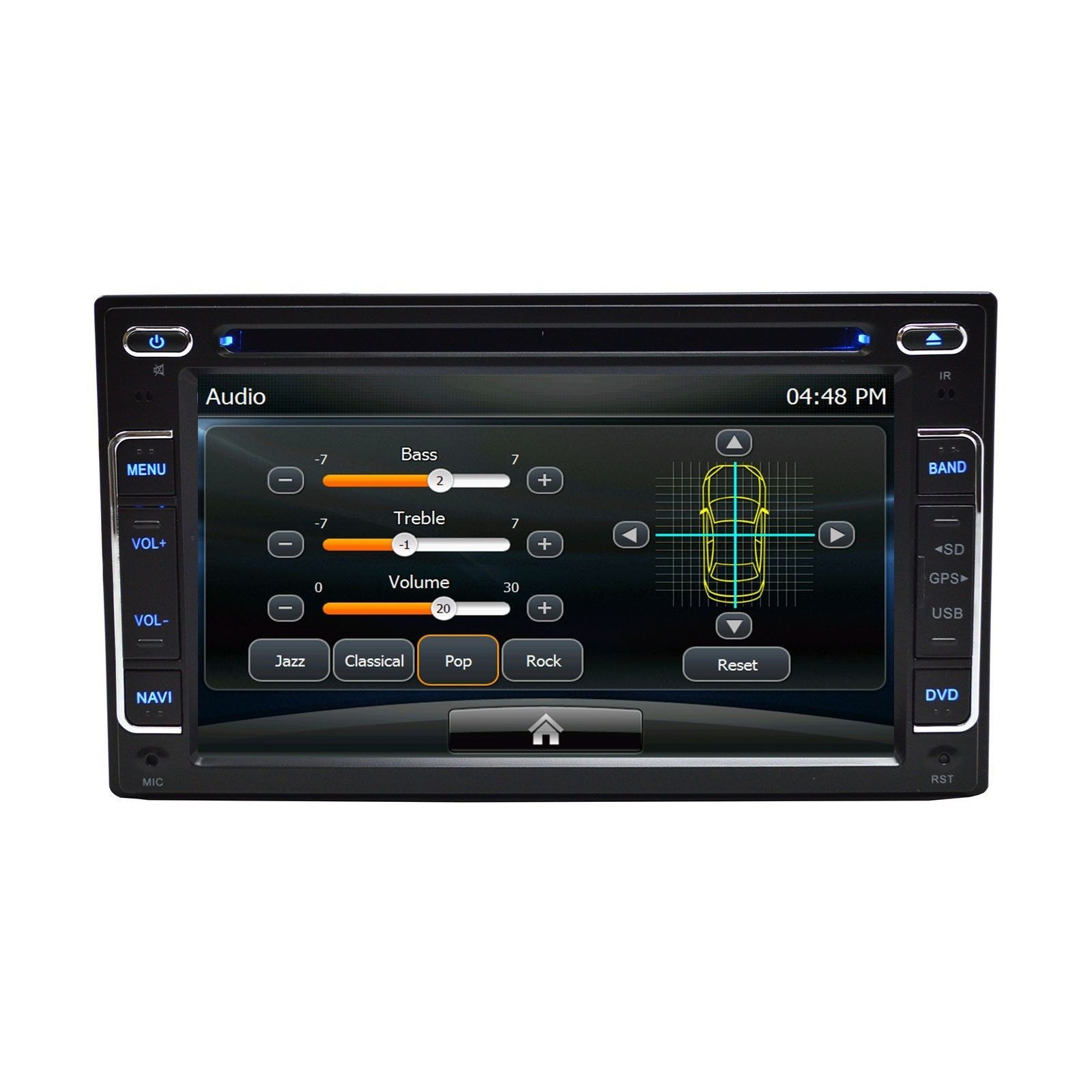 In Dash Multimedia DVD Bluetooth GPS Navigation Radio For Lexus ES 350 2007-2012