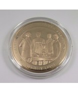 August 3, 1923 Calvin Coolidge Becomes President Franklin Mint Bronze Co... - £9.77 GBP