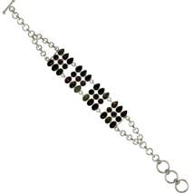 Multi Tourmaline Gemstone 925 Sterling Silver Bracelet Jewelry Hot Fashi... - $69.18