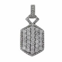 Stunning Designer Cubic Zirconia Gemstone 925 Sterling Silver Pendant SHPN0131 - $14.45