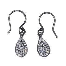 Shining Cubic Zirconia Drop Solid 925 Sterling Silver Jewelry Earring SHER0089 - $11.26